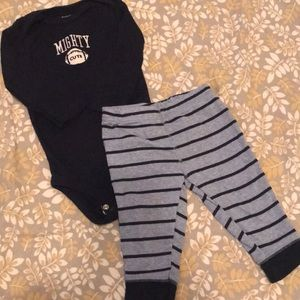 Carter's Football Outfit